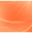Abstract Orange Blurred Background vector image