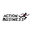 Action business vector image vector image