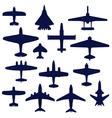 Avia set vector image vector image