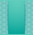 background with traditional ornament vector image vector image