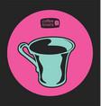 coffee shop 11 vector image vector image