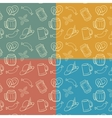 Colorful Octoberfest Seamless Background vector image vector image