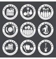 farmers eco labels vector image vector image