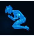 human body figure vector image vector image