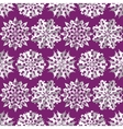 Origami snowflake seamless pattern Christmas New vector image vector image