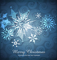 seasonal winter background vector image vector image