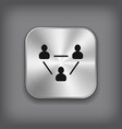 User group network icon vector image