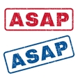 Asap Rubber Stamps vector image vector image