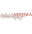 asthma a respiratory disorder text background