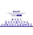 bullet ammunition landing header