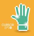 Cursor design vector image