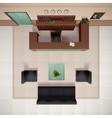Foyer Interior vector image vector image