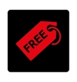 Free Tag icon vector image