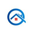 home roconstruction logo vector image