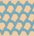piece bread seamless pattern food texture vector image vector image