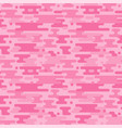 pink camouflage seamless pattern vector image vector image