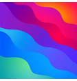 rendy material design background vector image