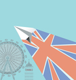 England tour vector image