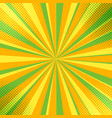 abstract colorful comic backdrop vector image