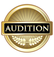 Audition Gold Label vector image