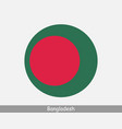 bangladesh round circle flag