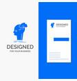 business logo for brainstorm creative head idea vector image