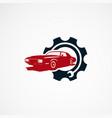 car repair logo designs concept for company vector image vector image
