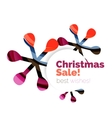 Christmas banner design vector image vector image
