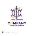 company name logo design for business vector image vector image