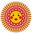 Filimonovo toy sun vector image vector image