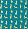 many rabbits vector image