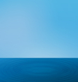 wallpapers ripple sea landscape with horizon vector image vector image