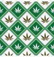 cannabis seamless texture vector image