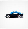 car wash classic concept logo icon element vector image vector image