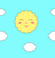 childrens pattern for wallpaper vector image vector image