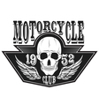 Motorcycle Racing Typography vector image vector image