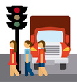 traffic concept vector image