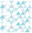 triangle pattern background Geometric vector image vector image