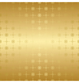 gold seamless geometric pattern vector image vector image