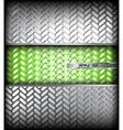 Metal silver texture vector image vector image