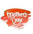 Mothers day hand-drawn lettering vector image