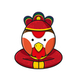 Rooster Chinese vector image
