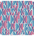 seamless pattern with abstract colorful squares vector image vector image