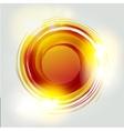 abstract circle Banner Logo design template vector image