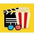 Cinema icon design vector image vector image