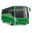comfortable city bus vector image vector image