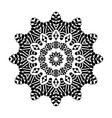 decorative hand drawn mandala ethnic decorative vector image