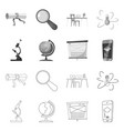 design of education and learning icon vector image