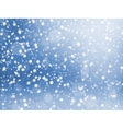 Falling snow texture Winter festive background vector image vector image