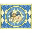 Symbol of Mark the evangelist winged lion vector image vector image